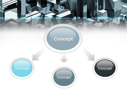 Skyscraper Abstract Concept PowerPoint Template Slide 4