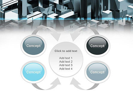 Skyscraper Abstract Concept PowerPoint Template Slide 6