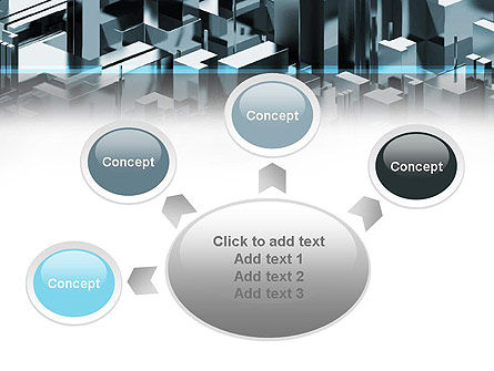 Skyscraper Abstract Concept PowerPoint Template Slide 7