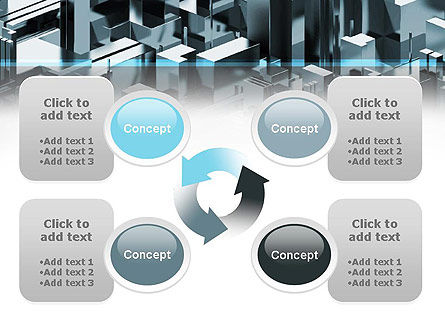 Skyscraper Abstract Concept PowerPoint Template Slide 9