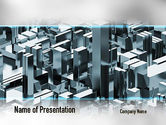 Construction: Skyscraper Abstract Concept PowerPoint Template #10922