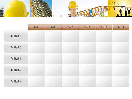 Construction Collage PowerPoint Template Slide 15