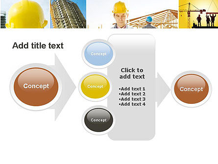 Construction Collage PowerPoint Template Slide 17