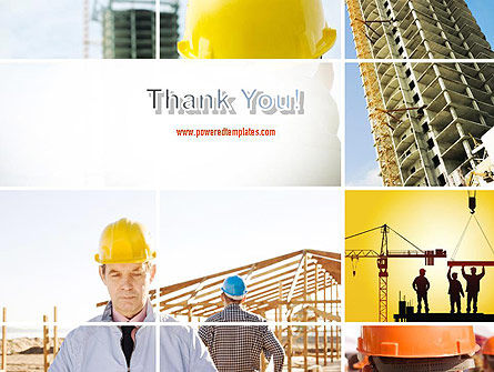 Construction Collage PowerPoint Template Slide 20