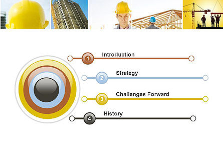 Construction Collage PowerPoint Template, Slide 3, 10923, Construction — PoweredTemplate.com