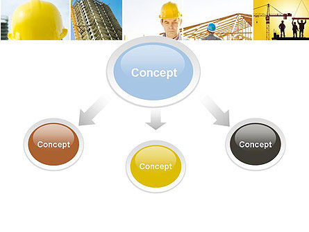 Construction Collage PowerPoint Template, Slide 4, 10923, Construction — PoweredTemplate.com