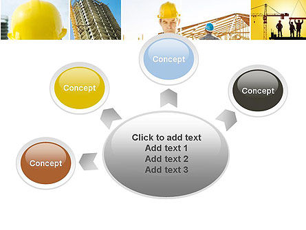 Construction Collage PowerPoint Template Slide 7