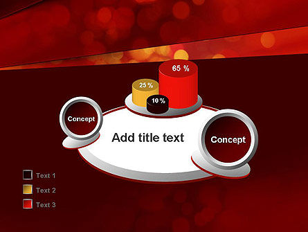 Abstract Red Spots PowerPoint Template Slide 16