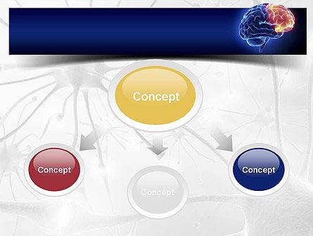 Human Brain Frontal Lobe PowerPoint Template, Slide 4, 10925, Medical — PoweredTemplate.com