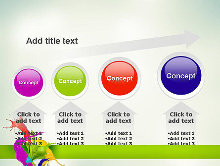 Paint Splash PowerPoint Template Slide 13