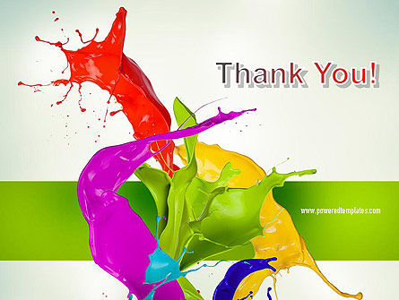 Paint Splash PowerPoint Template Slide 20