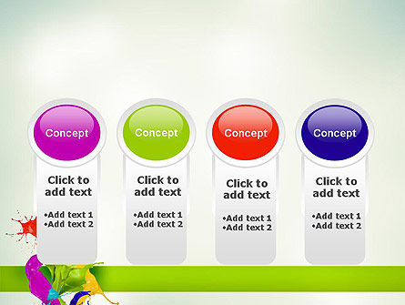 Paint Splash PowerPoint Template Slide 5