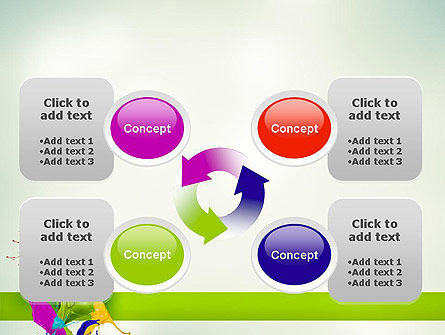 Paint Splash PowerPoint Template Slide 9