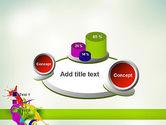 Paint Splash PowerPoint Template#16