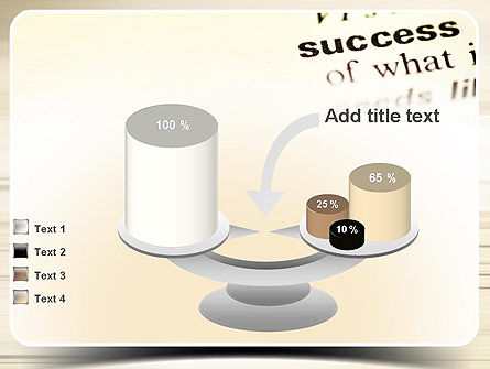 Definition of Success PowerPoint Template Slide 10