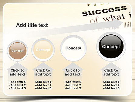 Definition of Success PowerPoint Template Slide 13