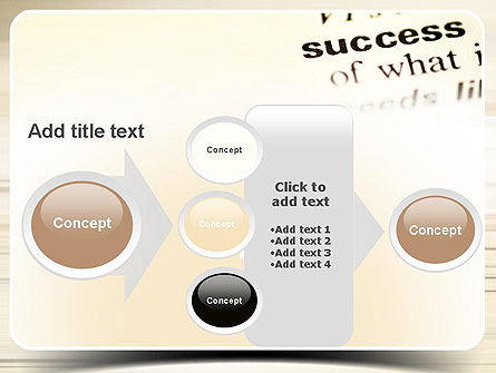 Definition of Success PowerPoint Template Slide 17