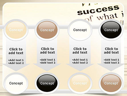 Definition of Success PowerPoint Template Slide 18