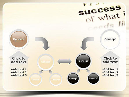 Definition of Success PowerPoint Template Slide 19