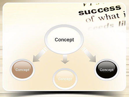 Definition of Success PowerPoint Template Slide 4