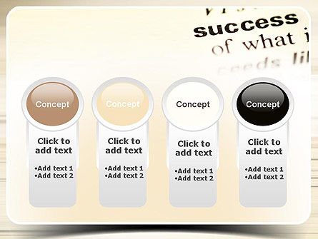 Definition of Success PowerPoint Template Slide 5