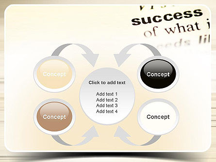 Definition of Success PowerPoint Template Slide 6
