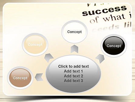 Definition of Success PowerPoint Template Slide 7