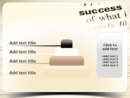 Definition of Success PowerPoint Template Slide 8