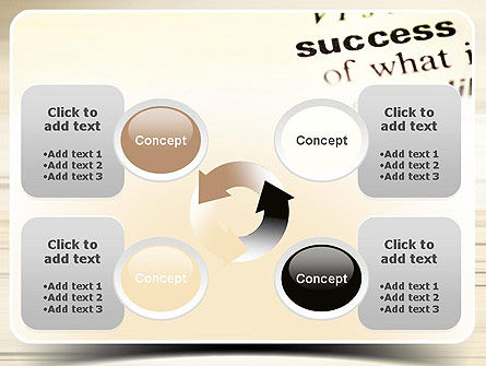 Definition of Success PowerPoint Template Slide 9