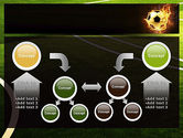 Football in Fire Flame PowerPoint Template#19