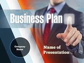 Business Concepts: Plantilla de PowerPoint - planificar y lanzar #10933