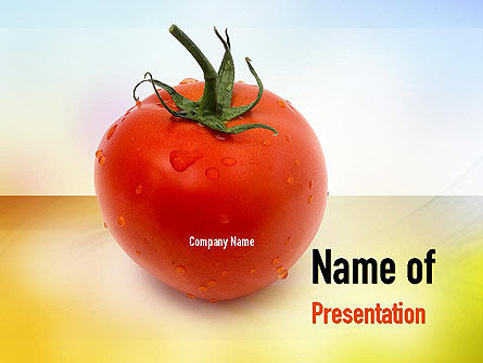 Agriculture: Natural Nutrition PowerPoint Template #10935