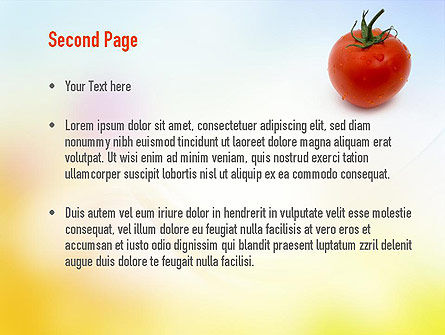 Natural Nutrition PowerPoint Template Slide 2