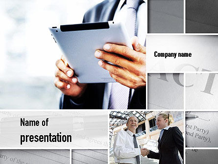 Business Concepts: Business Information PowerPoint Template #10936