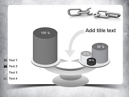 Broken Link PowerPoint Template Slide 10
