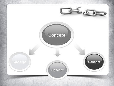 Broken Link PowerPoint Template Slide 4