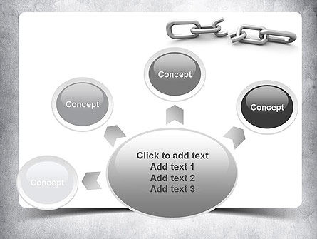 Broken Link PowerPoint Template Slide 7
