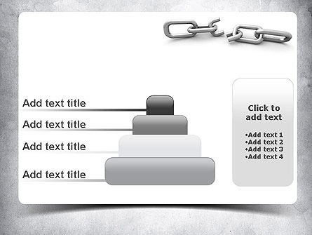 Broken Link PowerPoint Template Slide 8