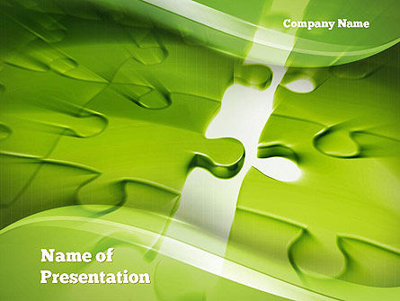 Puzzle Business PowerPoint Template