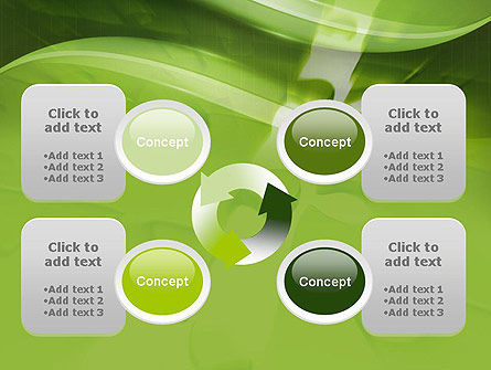 Puzzle Business PowerPoint Template Slide 9