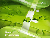 Puzzle Business PowerPoint Template#1
