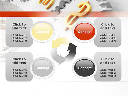 Working Money PowerPoint Template Slide 9