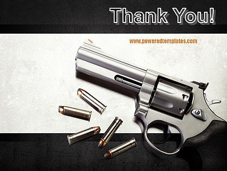 Gun PowerPoint Template Slide 20