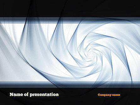 Abstract Infinity PowerPoint Template, 10945, Abstract/Textures — PoweredTemplate.com