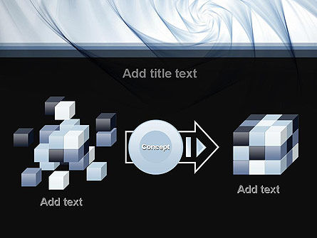 Abstract Infinity PowerPoint Template Slide 17