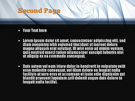Abstract Infinity PowerPoint Template Slide 2