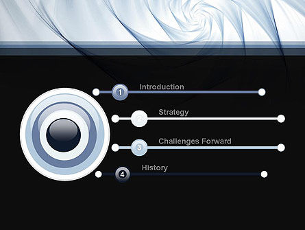 Abstract Infinity PowerPoint Template Slide 3