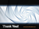 Abstract Infinity PowerPoint Template#20