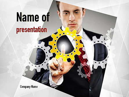 Business Launch PowerPoint Template, 10947, Business Concepts — PoweredTemplate.com