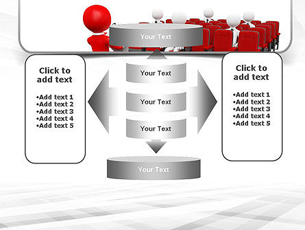 Conference Speaking PowerPoint Template Slide 13